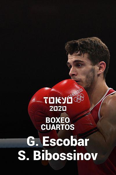 Boxeo. Peso mosca. Cuartos: G. Escobar - S. Bibossinov