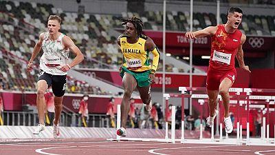 Asier Martínez se clasifica para semifinales de 110m vallas