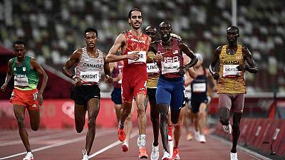 Mohamed Katir se mete en la final de 5.000m