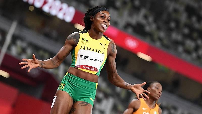 Elaine Thompson gana el oro en los 200 metros - Ver ahora
