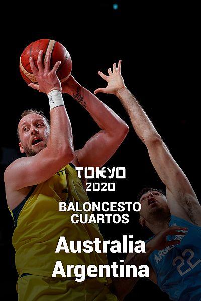 Baloncesto. Cuartos: Australia - Argentina
