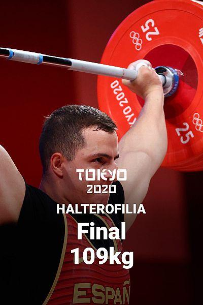 Halterofilia. Final +109kg