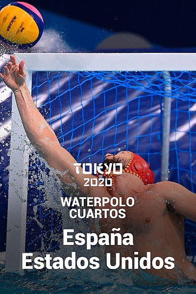 Waterpolo. Cuartos: España - EEUU