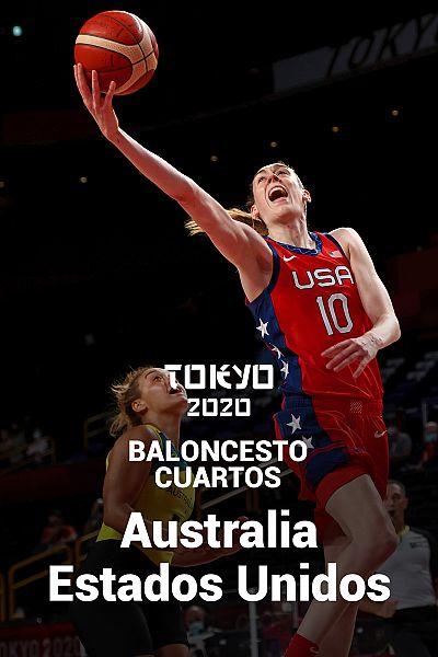 Baloncesto. Cuartos: Australia - EEUU