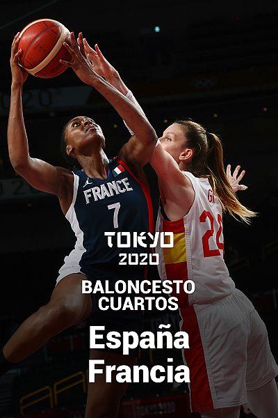 Baloncesto. Cuartos: España - Francia