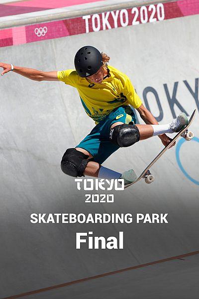 Skateboarding. Park: Final