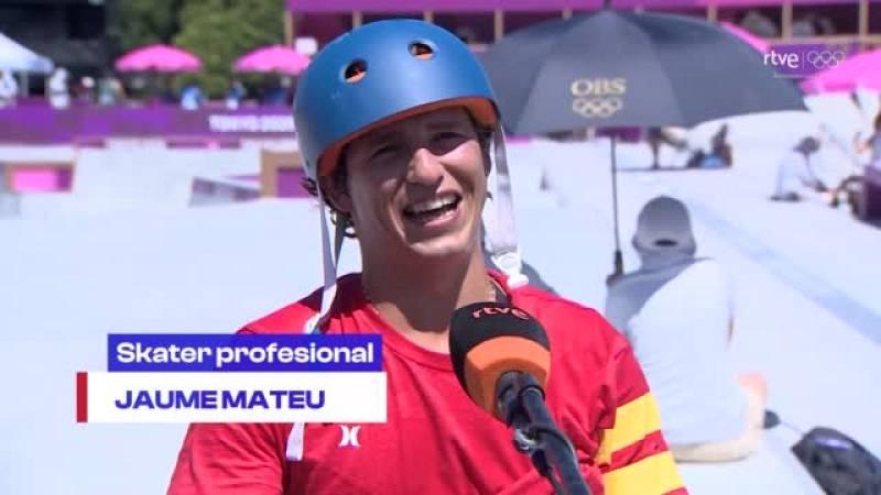 """Tokyo 2020 - Jaime Mateu: """"El skate es mucho más que un deporte, es un estilo de vida"""""""
