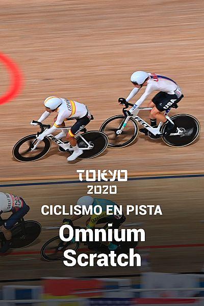 Ciclismo en pista: Omnium prueba 1 Scratch
