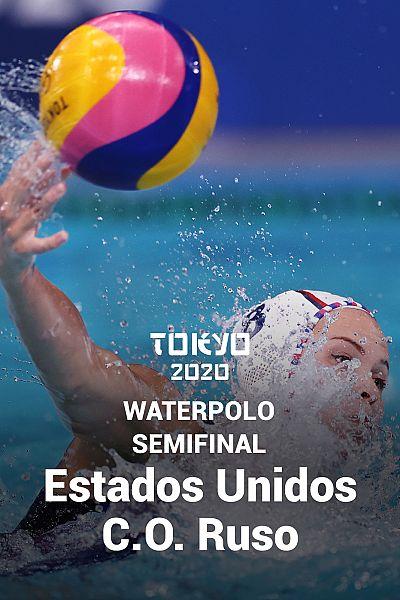 Waterpolo. Semifinal: C.O.Ruso - EEUU