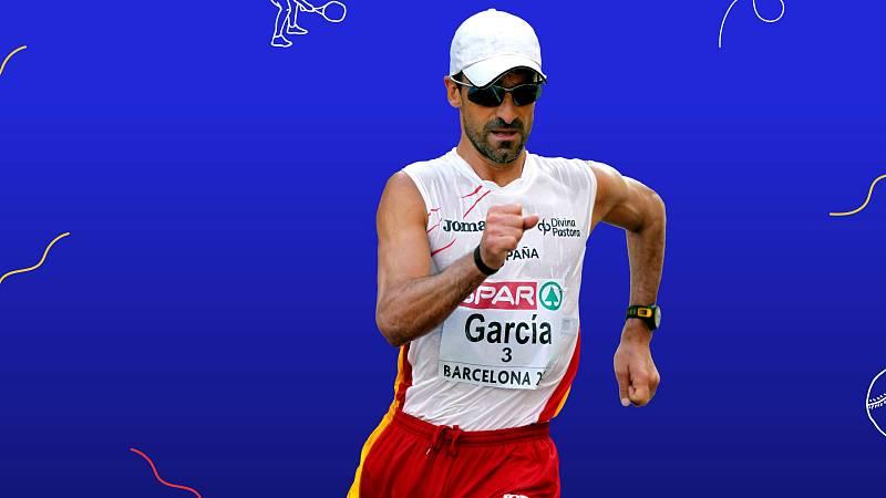 Jesús García Bragado, rumbo a sus octavos Juegos Olímpicos - Ver ahora