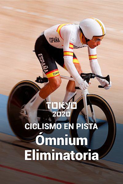 Ciclismo en pista: Ómnium prueba 3 Eliminatoria