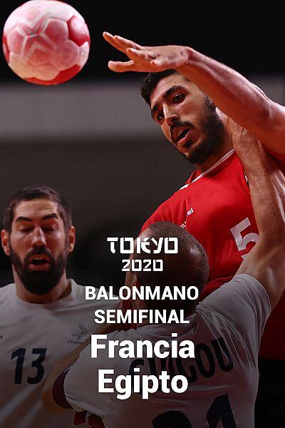 Balonmano. Semifinal: Francia - Egipto