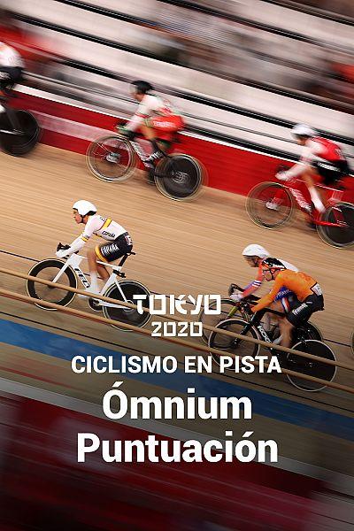 Ciclismo en pista: Ómnium prueba 4 Puntuación