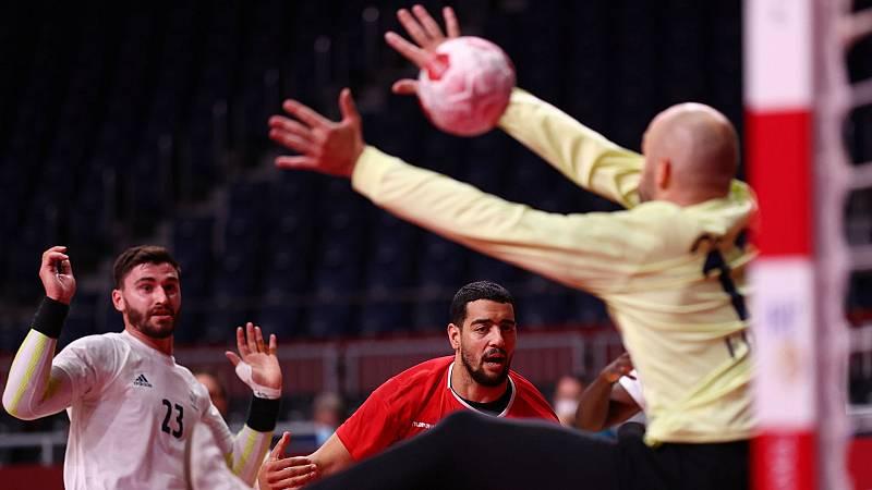Francia gana a Egipto y alcanza la final de balonmano
