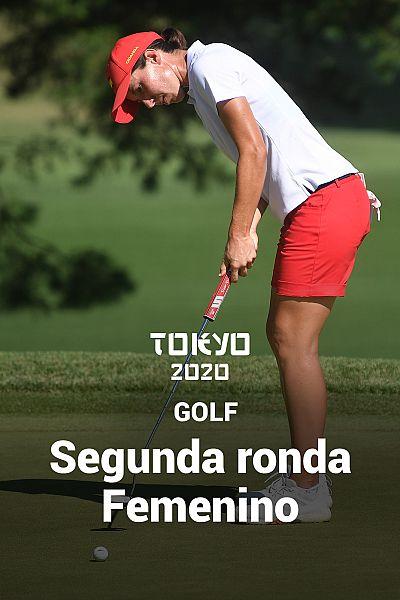 Golf: Segunda ronda. Resumen