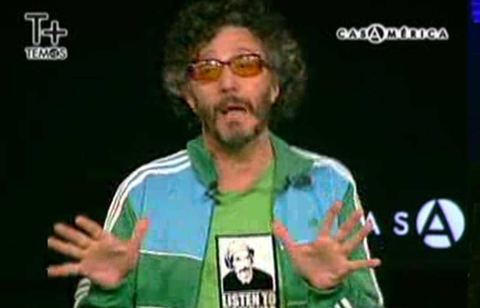 """Fito Páez: """"Método de azar sobre la composición de la canción"""""""