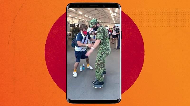 Visto en redes - El skate español revoluciona Tokyo 2020 - ver ahora
