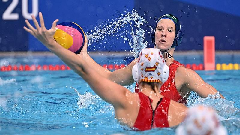 Tokyo 2020 - Waterpolo femenino. Semifinal: España - Hungría - Ver ahora