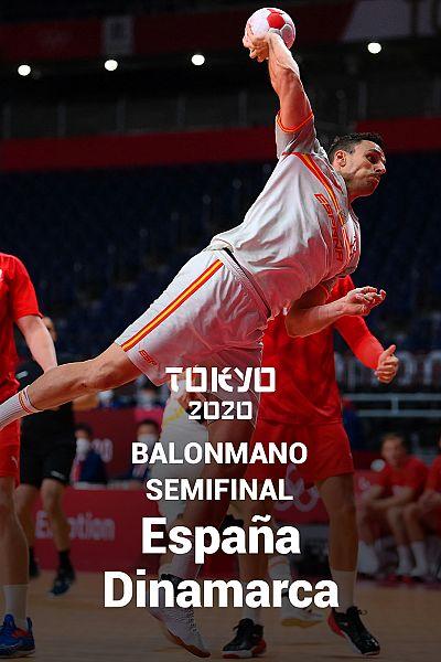 Balonmano. Semifinal: España - Dinamarca