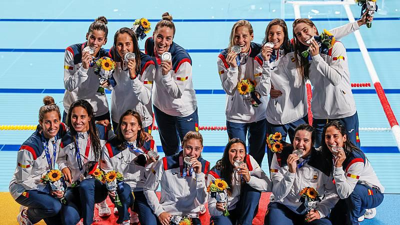 España pierde 5-14 con EE.UU. y se conforma con la plata - Ver ahora