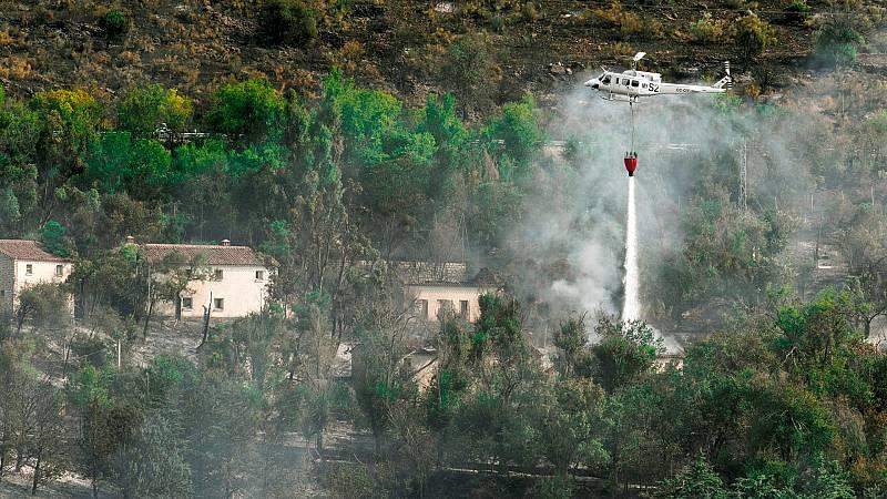 Mejora la situación de varios incendios en España