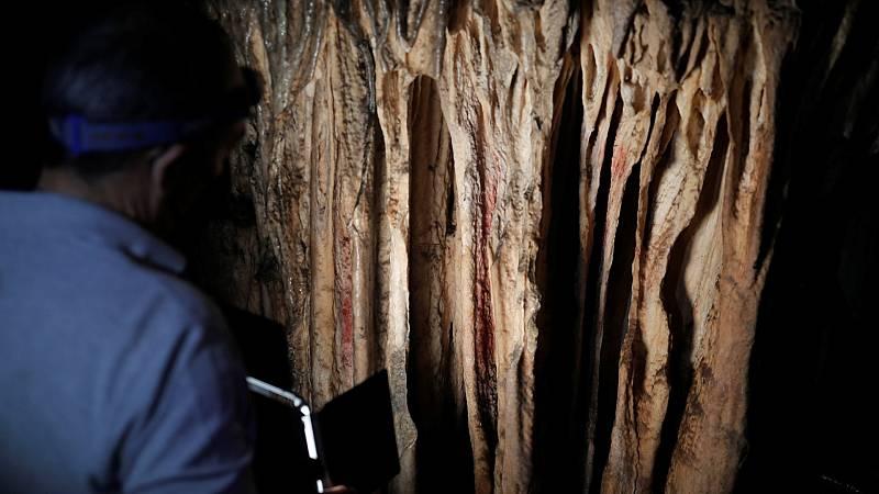 Un grupo de investigadores constata que las pinturas de la cueva de Ardales son de origen neandertal