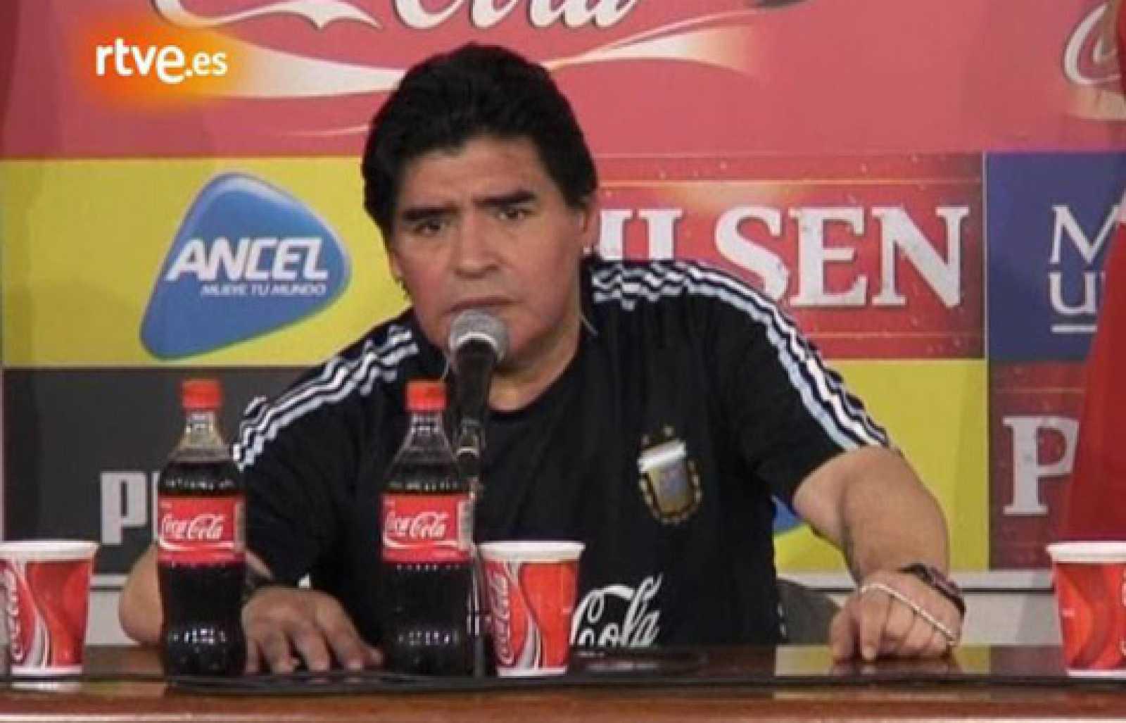 """Maradona: """"A los que no creían, que la chupen"""""""