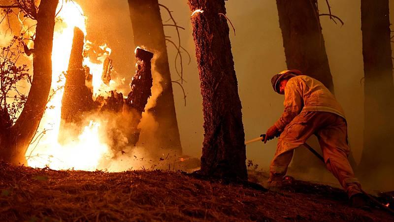 El cambio climático y sus altas temperaturas aumentan la intensidad de los incendios en el Mediterráneo
