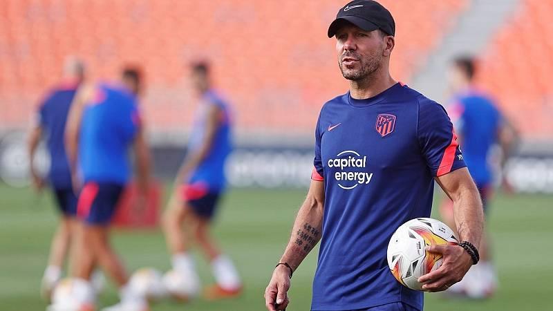 Simeone niega que el Atlético de Madrid se plantease el fichaje de Leo Messi