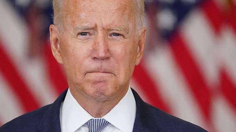 Biden amenaza a los talibanes con una respuesta militar si atacan al personal estadounidense o su embajada en Afganistán