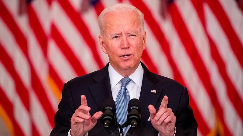 Joe Biden defiende su papel en el conflicto afgano - Ver ahora