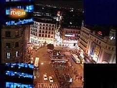 'La2 Noticias' abre con el primer apagón organizado en Madrid contra el cambio climático (2007)