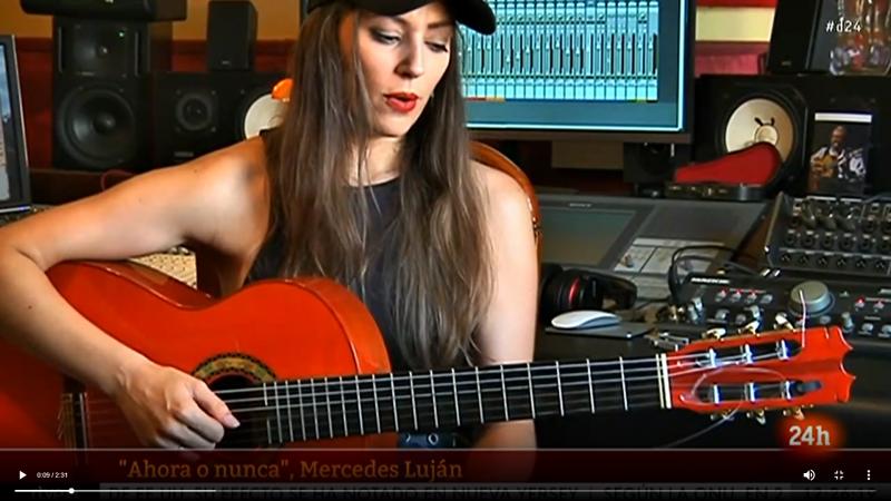 Mercedes Luján, rompiendo barreras en la guitarra flamenca