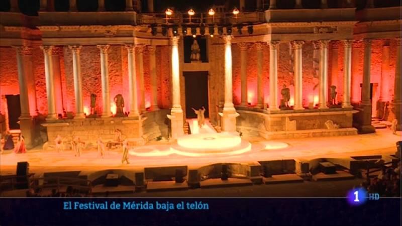 El Festival de Mérida baja el telón - 23/08/2021