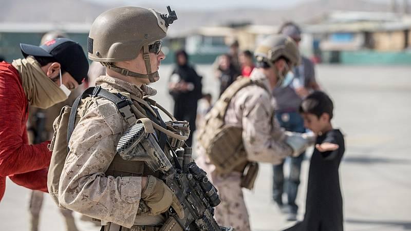 """Biden: """"Terminar la evacuación el 31 de agosto depende de la cooperación de los talibanes"""" - Ver ahora"""