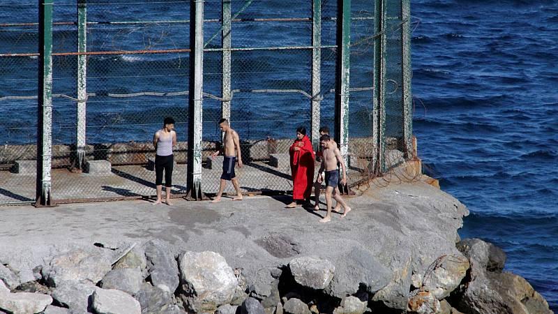 Nuevo intento de entrada irregular de marroquíes en Ceuta