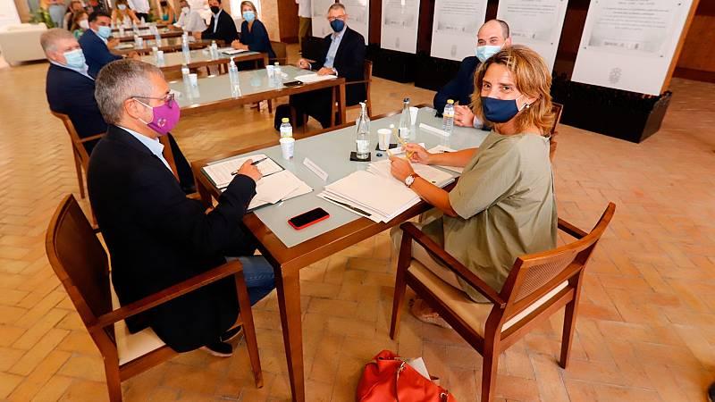 Reunión entre la ministra Ribera y el presidente de Murcia para salvar el Mar Menor
