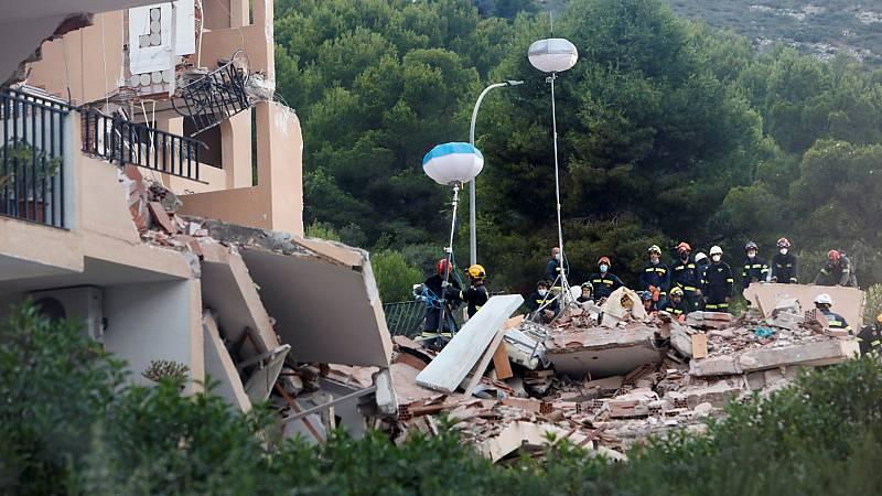 Encuentran el cuerpo del menor desaparecido tras el derrumbe de un edificio en Peñíscola