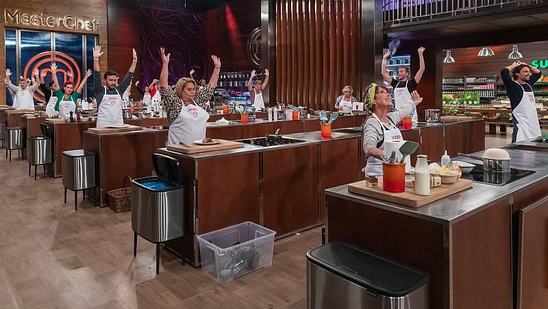 Los aspirantes de MasterChef Celebrity 6, en cocinas por primera vez