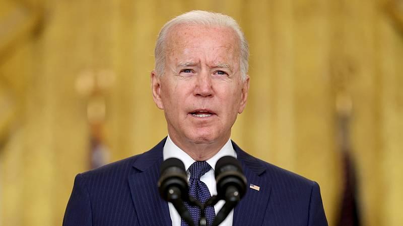 """Respuesta de Biden hacia los responsables del ataque en Kabul: """"No os vamos a perdonar y no lo vamos a olvidar"""" - Ver ahora"""