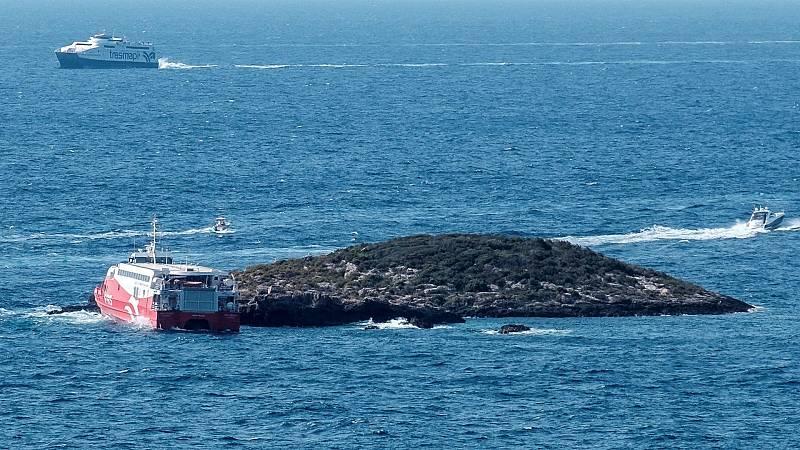 Veinticinco heridos, dos de ellos graves, en un accidente de ferry en Ibiza