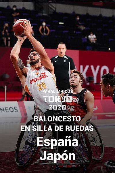 Baloncesto en silla de ruedas: España-Japón