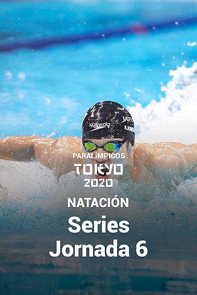 Natación: Series. Jornada 6