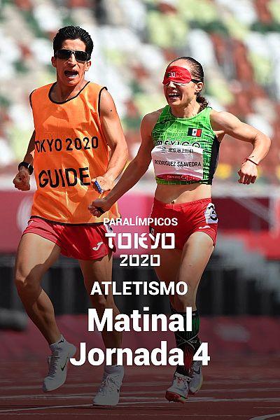 Atletismo: Matinal. Jornada 4