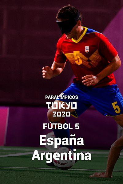 Fútbol 5: España - Argentina