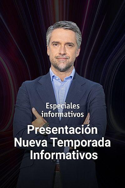 Presentación nueva temporada de Informativos de RTVE
