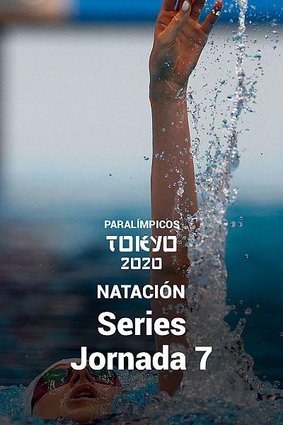 Natación: Series. Jornada 7
