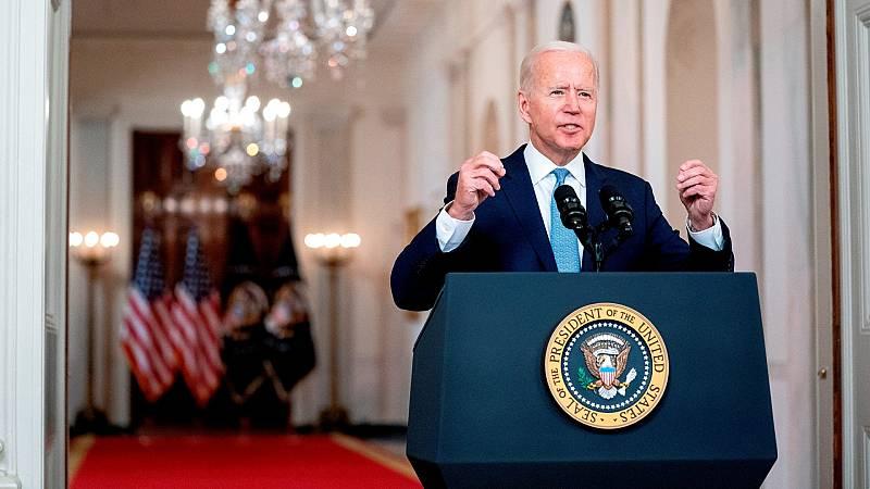 """Biden pone fin a la """"era de las grandes operaciones militares"""" estadounidenses - Ver ahora"""