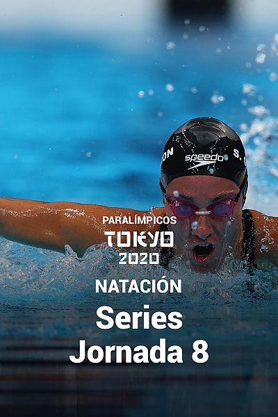 Natación: Series. Jornada 8