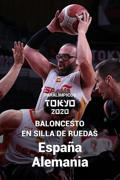 Baloncesto en silla de ruedas masculino: Cuartos. España - A